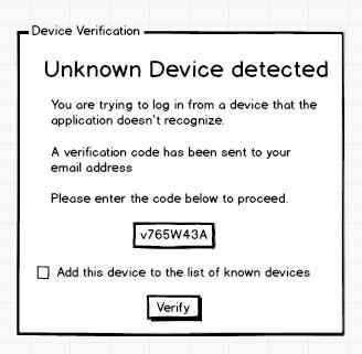User Device Verification Risk Assessment
