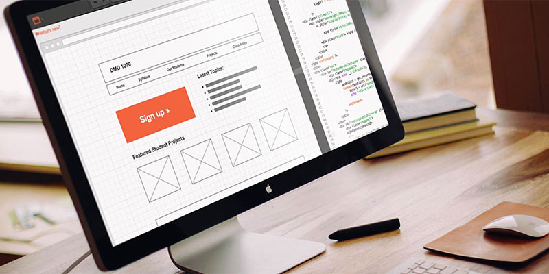 Wireframes for Web Development