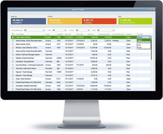 Quickbooks Integration | Custom Software by Preston